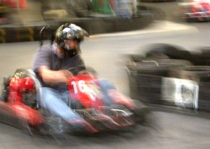 Me being a speed demon