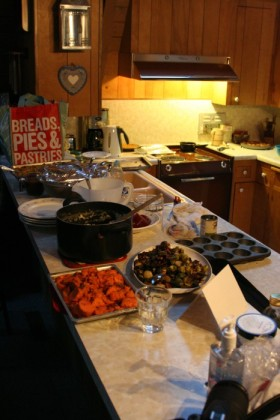 Most of the spread