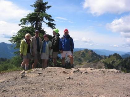 All of us at Bogachile Peak
