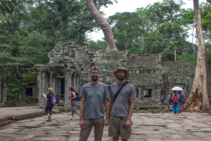 In front of Ta Prohm