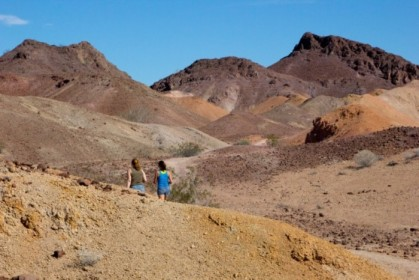 Heading down the Painted Desert Trail, in reverse!