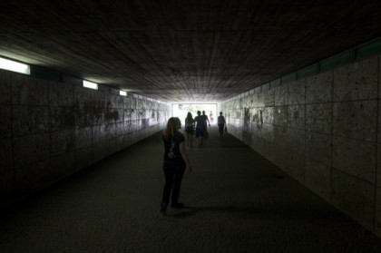 Tunneling through towards Englischer Garten