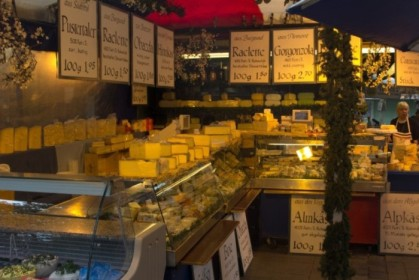 Cheese shop in Viktualienmarkt