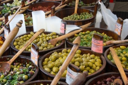 Olives and other cured items