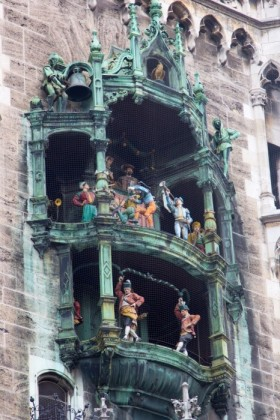 The famed Glockenspiel