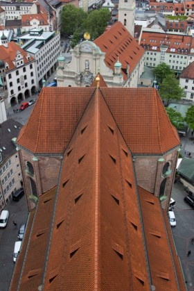Roofline of St Peterskirche