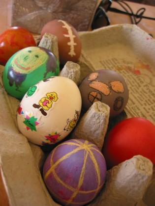 My set of eggs