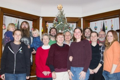 The crew, arrayed as they should be