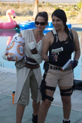 Rey and Lara