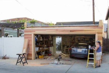 Alley-side, nearly complete