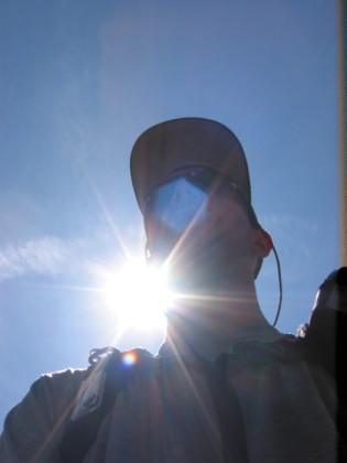 Me and a lens flare