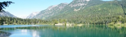 Gold Creek Pond panorama