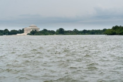 View of the Jefferson Memorial