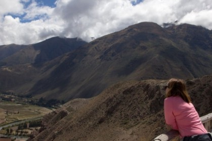 Taking in the Andes