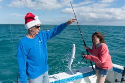 Poking the fish