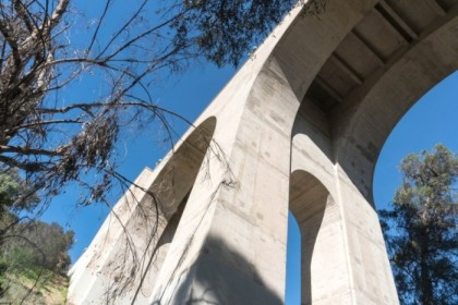 Under the Cabrillo Bridge