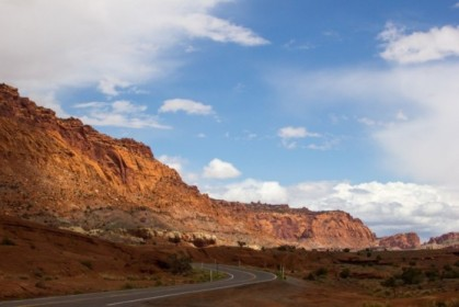 Entrance to Capitol Reef