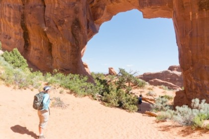 Pine Tree Arch, our final stop