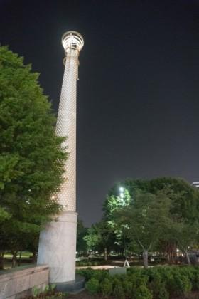 Illuminated column