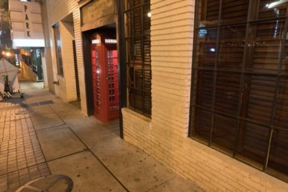 Red Phone Booth (speakeasy) secret entrance