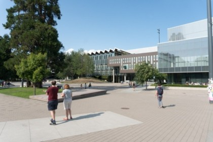 Wandering the campus of UBC
