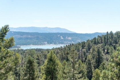 View of Big Bear Lake