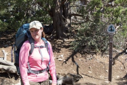 Joining up with the Pacific Crest Trail