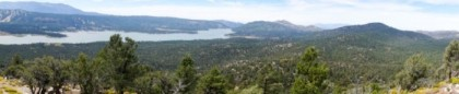 Big Bear Lake from Bertha Peak
