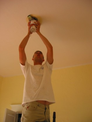 Removing the ceiling fan