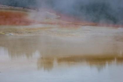 Sulfur wafts