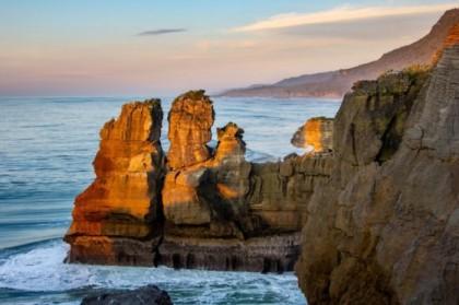 North edge of Pancake Rocks