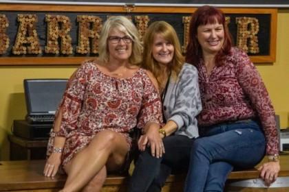 Lynne, Katherine, and Lisa