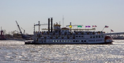 Creole Queen on a cruise