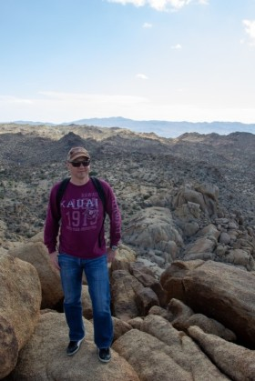 Up on Mastadon Peak