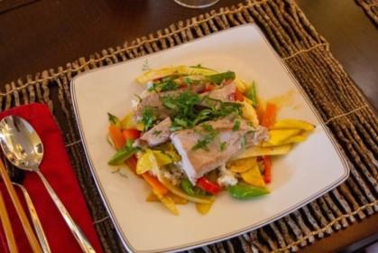 Tuna and veggie curry