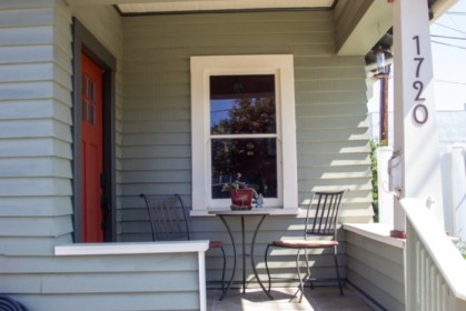 Porch, blindless