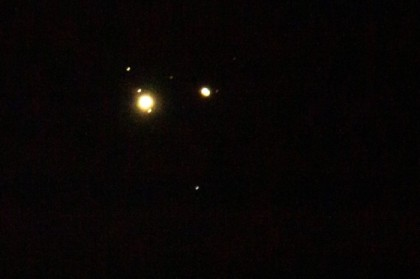 Four moons for Jupiter