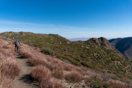 Heading north on the PCT