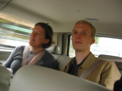 The back seat crew