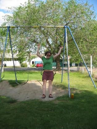 A dangerous dismount
