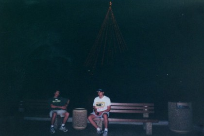 Damian and me at Sea World