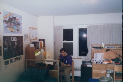 Jason in his room