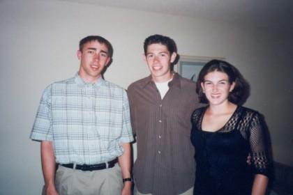 Me, Randy, and Liz in LA