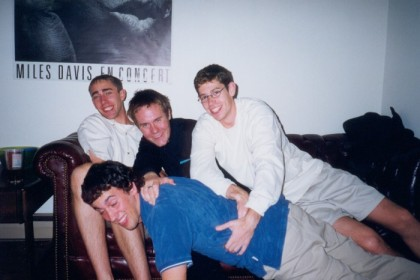 Myself, John, Doyle, and Randy. Not sure what's going on here.