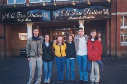 Me, Barlo, Chryssi, Spike, Mark, and Ryan in Oxford