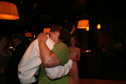 End of the mother-son dance