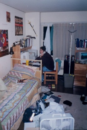 Randy in his room
