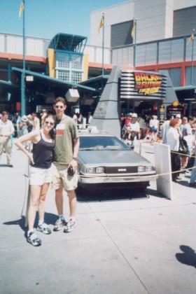 Randy and Liz at Universal Studios