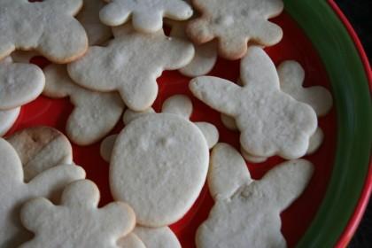 Cookies, pre-frosting