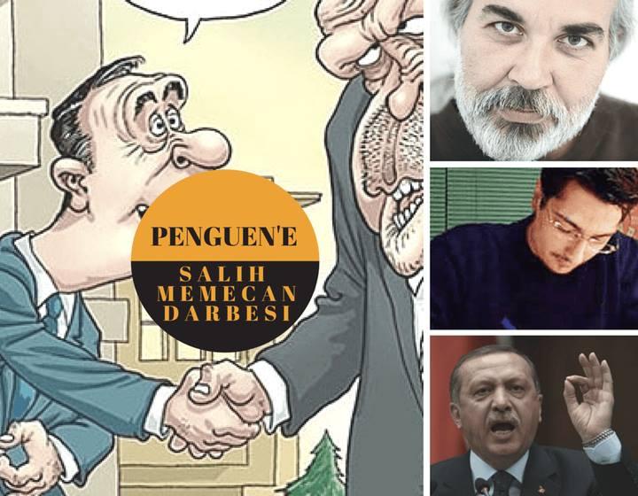 Penguen Dergisi Çizerlerine Verilen 11'er Ay Hapis Cezası, Salih Memecan'ın Denetiminde 6 Ay Karikatür Çizme Cezasına Çevrildi